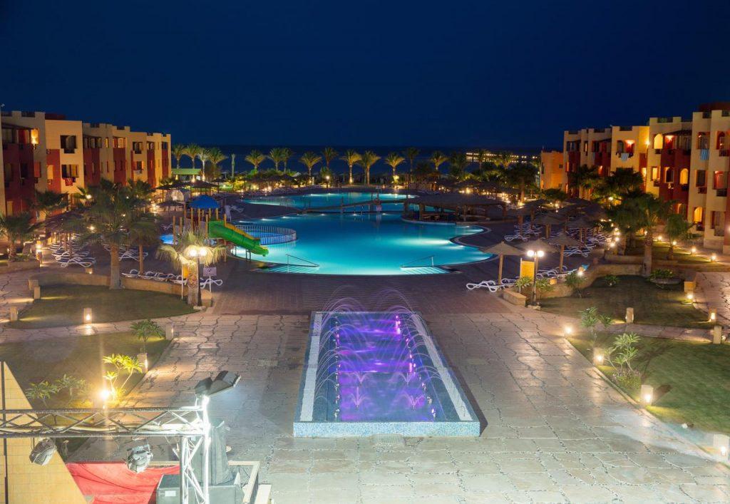 Royal Tulip Resort pool and grounds