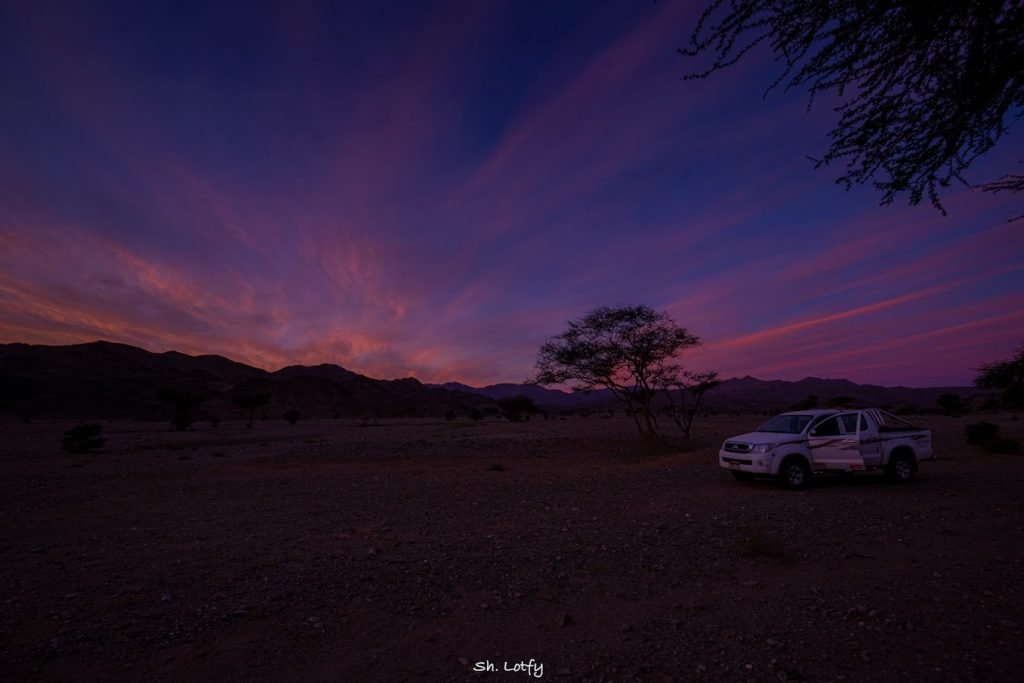 The Gebel Elba National Park just before the dawn - Photogrpah ©Sherif Lotfy 2020